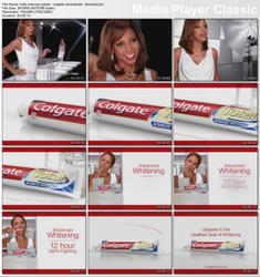 "HOLLY ROBINSON PEETE - ""Colgate Commercial"""