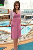 Katharine Katherine Mcphee Naming of Crown Princess Cruise Ship Foto 300 (������ ������ ����� ������������ ������������� Cruise Ship ���� 300)