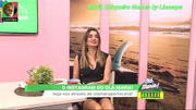 Maria Cerqueira Gomes sensual no Olá MAria