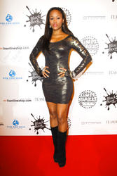 "Eve - Wears A Tight Dress To ""GumBall 3000"" Event"