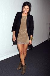 Jessica Szohr @ The Rebecca Minkoff Fashion Show during the Mercedes Benz Fashion Week in New York City - Feb. 11, 2011 (4HQ)