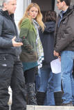 Блейк Лайвли, фото 4827. Blake Lively On the Set of Gossip Girl in New York City - March 1, 2012, foto 4827