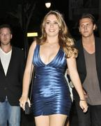 Sophie Simmons leaving Katsuya restaurant in Hollywood 10/2/11