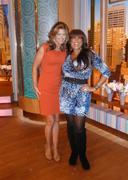 Kathy Ireland -- backstage at Wendy Williams show