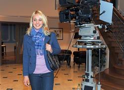 Магдалена Ньюнер, фото 73. Magdalena Neuner 'Sturm der Liebe' - Set Bavaria Studios - 02.11.2011, foto 73