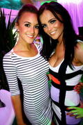 Rosie Jones and Emma Glover - Nuts Club Night in Ibiza